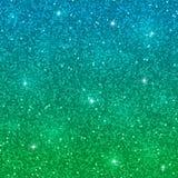 Blauwgroen schitter achtergrond Vector Stock Afbeeldingen