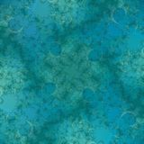 Blauwgroene Abstracte Achtergrond Royalty-vrije Stock Afbeelding