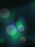 Blauwgroene onduidelijk beeld bokeh achtergrond royalty-vrije illustratie