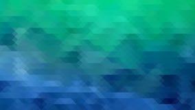 Blauwgroene wintertaling Royalty-vrije Stock Foto