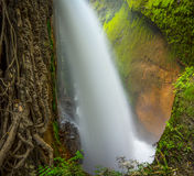 Blawan waterfall, Indonesia Royalty Free Stock Photos