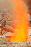 Blaze Royalty Free Stock Photo