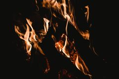 Blaze, Bonfire, Burn Stock Photo
