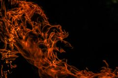 Blaze, Burn, Burning Royalty Free Stock Images