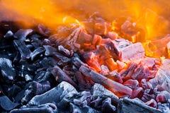 Blaze closeup Stock Image