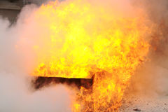 Blaze fire burning flame texture background Royalty Free Stock Photography