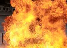 Blaze fire burning flame texture background Royalty Free Stock Image
