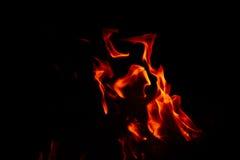 Blaze of fire Stock Photography