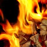 Blaze Fire Flame Background Lizenzfreie Stockfotografie