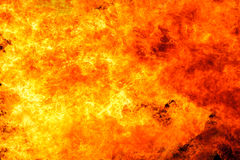 Blaze fire flame background Stock Image
