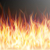 Blaze fire flame. EPS 10. Blaze fire flame texture on transparent background. EPS 10 vector file included Royalty Free Stock Photo
