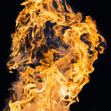 Blaze fire flame. Texture background Royalty Free Stock Images