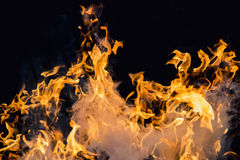 Blaze fire flame Royalty Free Stock Photos