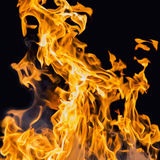 Blaze fire flame Stock Images