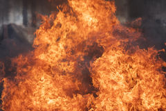 Blaze fire flame texture background Royalty Free Stock Photos