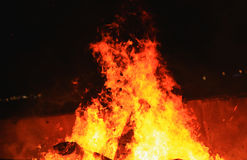 Blaze fire flame Royalty Free Stock Photography