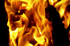 Blaze fire flame texture background Stock Image
