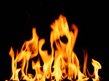 Blaze of Flames Royalty Free Stock Image