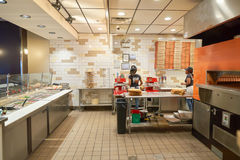 Blaze Pizza Stock Image