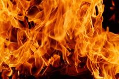 Blazine-Feuer-Flammenhintergrund Lizenzfreie Stockfotos