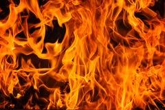Blazine-Feuerflammenbeschaffenheit und -hintergrund Lizenzfreies Stockbild