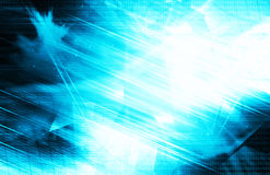 Blazing blue lights background Royalty Free Stock Photo