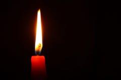 Blazing candle Royalty Free Stock Image