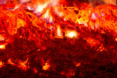 Blazing fire Royalty Free Stock Image