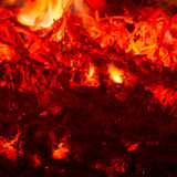 Blazing fire Stock Images