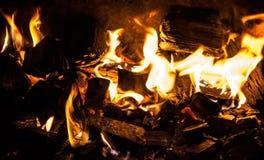 Blazing fire Stock Photos
