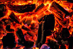 Blazing fire Royalty Free Stock Photo