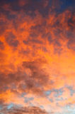 Blazing Sky Stock Photo