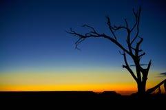 Blazing southwest sunset Royalty Free Stock Images