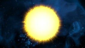 Blazing Sun Stock Image