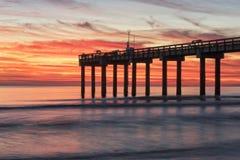 Blazing Sunrise Royalty Free Stock Photography
