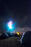 Blazing Tents Stock Images