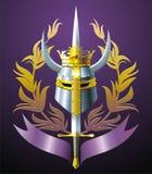 Blazon royalty-vrije illustratie
