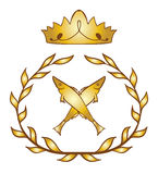 Blazon royal fish Royalty Free Stock Photo