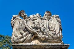 Blazonry van Mdina, Malta Stock Foto
