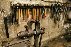 Blcacksmith tools Stock Image