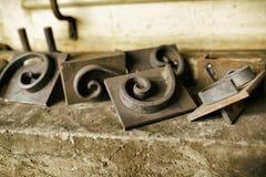 Blcacksmith tools Stock Photography