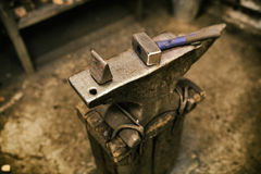 Blcacksmith tools Royalty Free Stock Photography