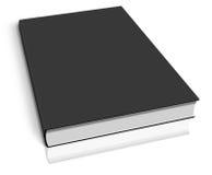 Blck empty book template Stock Photos