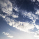 Bldramatic sky background. background with space for text Royalty Free Stock Images