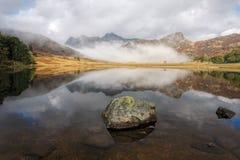 blea地区湖小湖 库存图片