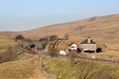 Blea amarra el túnel y la caja de señal, North Yorkshire Fotos de archivo