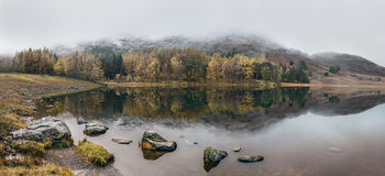 Blea Reflection Royalty Free Stock Photography