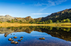 Blea Tarn in the English Lake District Royalty Free Stock Photos