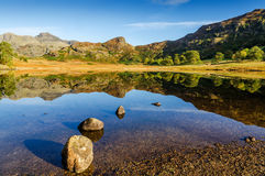Blea Tarn in the English Lake District Royalty Free Stock Photo