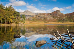 Blea Tarn in the Lake District Royalty Free Stock Image